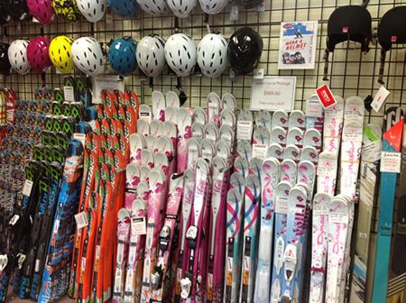 Skis-New